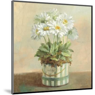 Tres Chic Daisies-Danhui Nai-Mounted Art Print