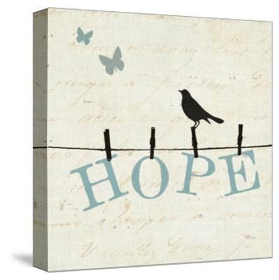 Bird Talk I-Jess Aiken-Stretched Canvas Print