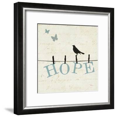 Bird Talk I-Jess Aiken-Framed Art Print