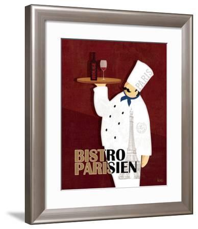Chef du Monde II-Veronique Charron-Framed Art Print