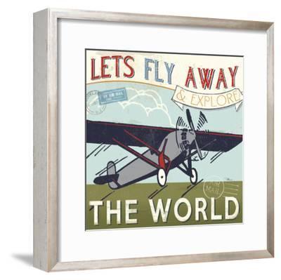 Let's Travel II-Pela Design-Framed Premium Giclee Print