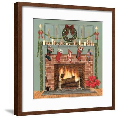 Home for the Holidays I-David Carter Brown-Framed Art Print