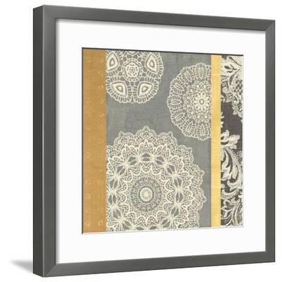 Contemporary Lace II--Framed Art Print