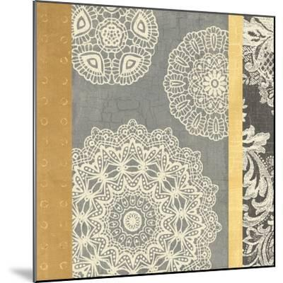 Contemporary Lace II--Mounted Art Print