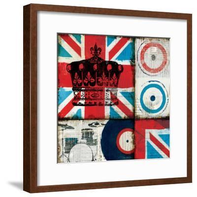 British Rock II-Mo Mullan-Framed Art Print