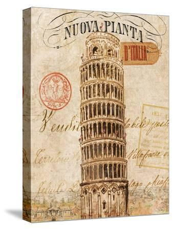 Letter from Pisa-Hugo Wild-Stretched Canvas Print