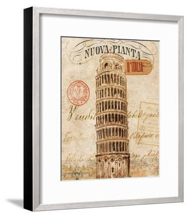 Letter from Pisa-Hugo Wild-Framed Premium Giclee Print