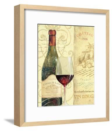 Wine Passion II-Daphne Brissonnet-Framed Art Print