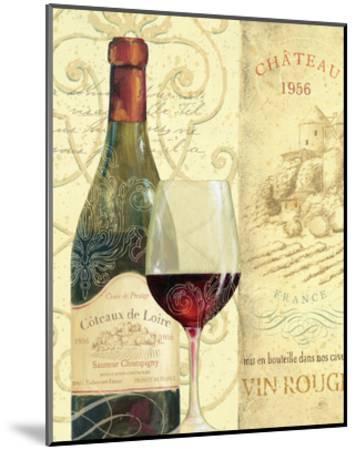 Wine Passion II-Daphne Brissonnet-Mounted Art Print