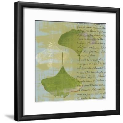 Renew-Hugo Wild-Framed Art Print