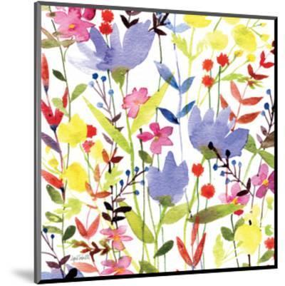 Annes Flowers Crop I-Anne Tavoletti-Mounted Art Print