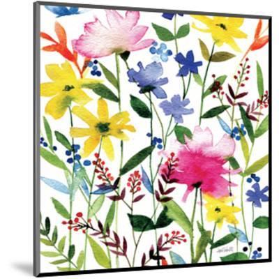 Annes Flowers Crop II-Anne Tavoletti-Mounted Art Print