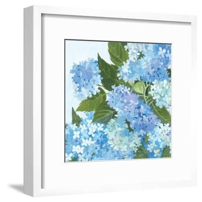 Decorative Hydrangea I-Kathrine Lovell-Framed Art Print