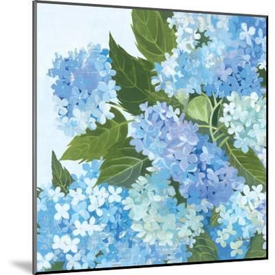 Decorative Hydrangea I-Kathrine Lovell-Mounted Art Print