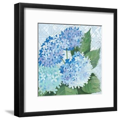 Decorative Hydrangea II-Kathrine Lovell-Framed Art Print