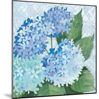 Decorative Hydrangea II-Kathrine Lovell-Mounted Art Print