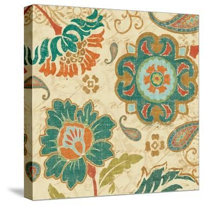 Fall Paisley III--Stretched Canvas Print