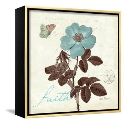 Touch of Blue II-Katie Pertiet-Framed Stretched Canvas Print