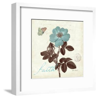 Touch of Blue II-Katie Pertiet-Framed Art Print