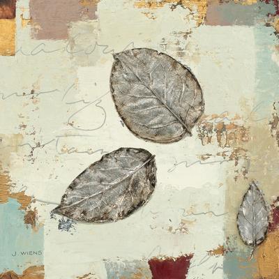 Silver Leaves IV-James Wiens-Art Print