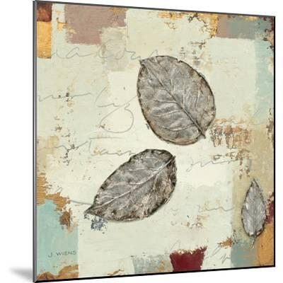 Silver Leaves IV-James Wiens-Mounted Art Print