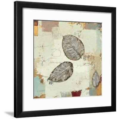 Silver Leaves IV-James Wiens-Framed Art Print