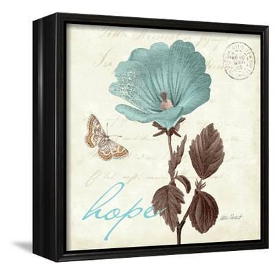 Touch of Blue III-Katie Pertiet-Framed Stretched Canvas Print