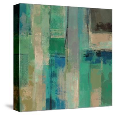 Emerald Fields Square II-Silvia Vassileva-Stretched Canvas Print