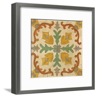 Andalucia Tiles I Color-Silvia Vassileva-Framed Art Print