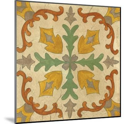 Andalucia Tiles I Color-Silvia Vassileva-Mounted Art Print
