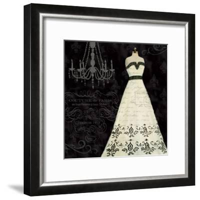French Couture II-Emily Adams-Framed Art Print