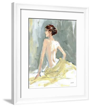 Nude II-Anne Tavoletti-Framed Art Print