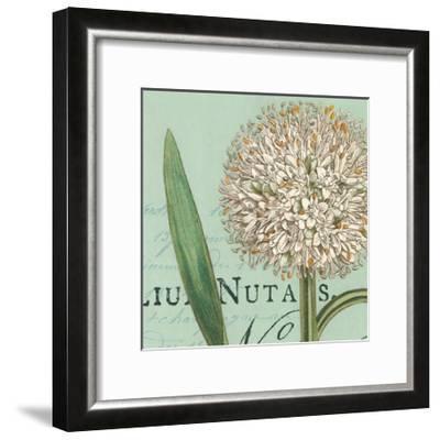 Botanique Bleu II-Hugo Wild-Framed Art Print