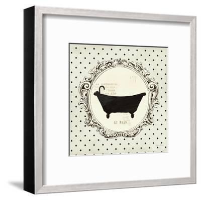 Cartouche Bath-Emily Adams-Framed Art Print