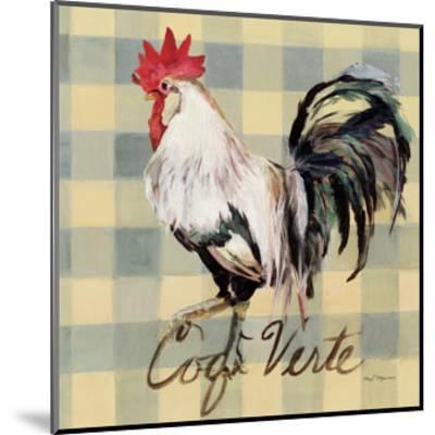 Coq Verte-Marilyn Hageman-Mounted Art Print
