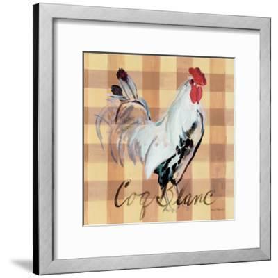 Coq Blanc-Marilyn Hageman-Framed Art Print