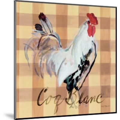 Coq Blanc-Marilyn Hageman-Mounted Art Print