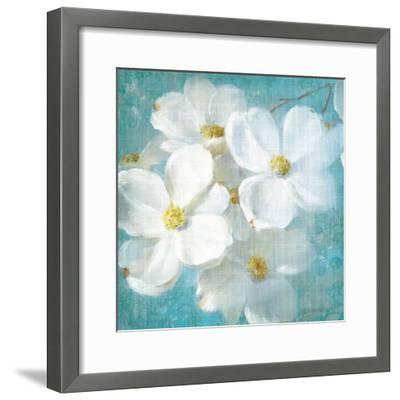 Indiness Blossom Square Vintage II-Danhui Nai-Framed Art Print