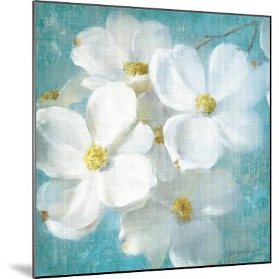 Indiness Blossom Square Vintage II-Danhui Nai-Mounted Art Print
