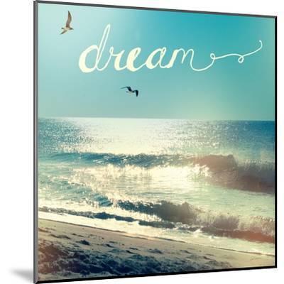 Coastline Waves-Sue Schlabach-Mounted Art Print