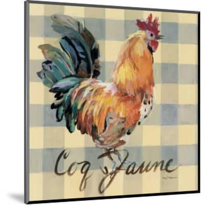 Coq Jaune-Marilyn Hageman-Mounted Art Print