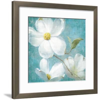Indiness Blossom Square Vintage IV-Danhui Nai-Framed Art Print