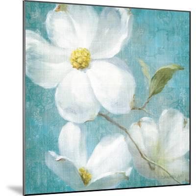 Indiness Blossom Square Vintage IV-Danhui Nai-Mounted Art Print
