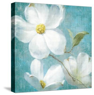 Indiness Blossom Square Vintage IV-Danhui Nai-Stretched Canvas Print