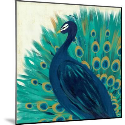 Proud as a Peacock II-Veronique Charron-Mounted Art Print