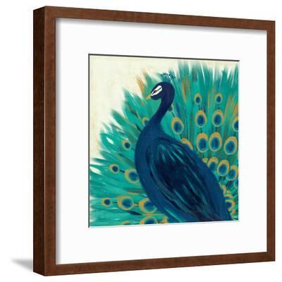 Proud as a Peacock II-Veronique Charron-Framed Art Print