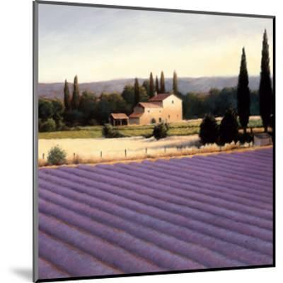 Lavender Fields II Crop-James Wiens-Mounted Art Print