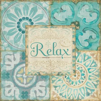 Ocean Tales Tile VI-Pela Design-Art Print