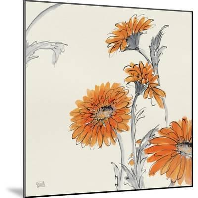 Orange Gerbera I-Chris Paschke-Mounted Art Print