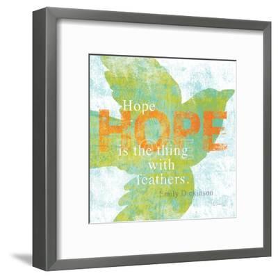 Letterpress Hope-Sue Schlabach-Framed Art Print